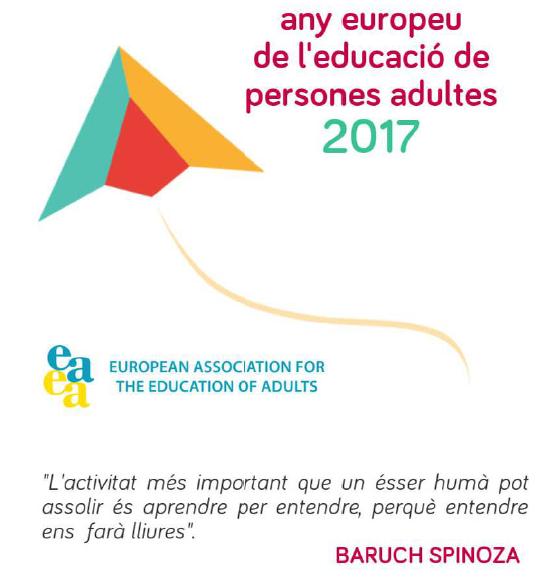 Any europeu educació persones adultes
