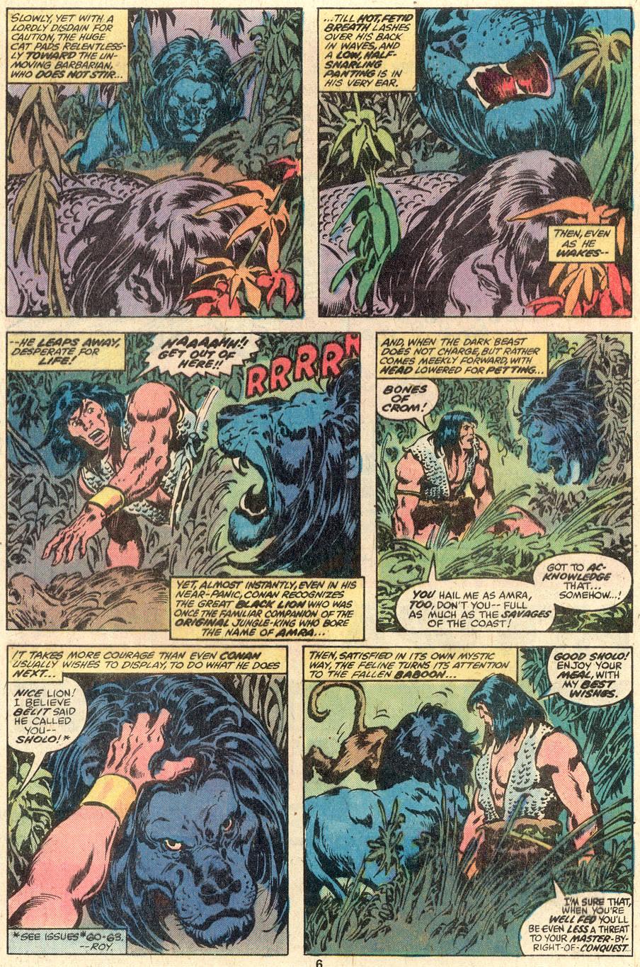 Conan the Barbarian (1970) Issue #95 #107 - English 5