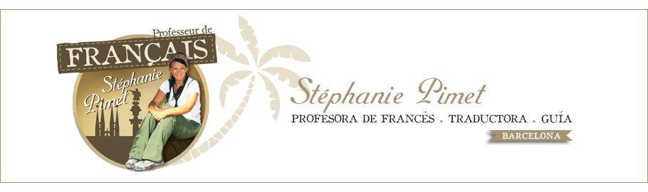 Stéphanie Pimet - Profesora de francés - Barcelona