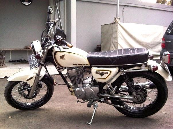 modifikasi motor honda CB 100 - lihat modifikasi motor