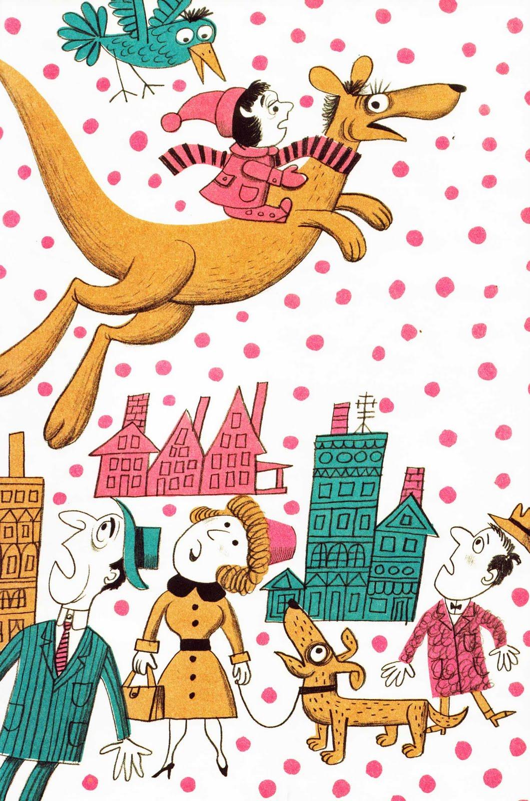 Vintage Kids\' Books My Kid Loves: Kangaroo for Christmas