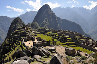 the lost city of inca Machu picchu