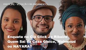 BBB18 NAYARA ELIMINADA 92,69 LIDERA INDICE REJEIÇÃO