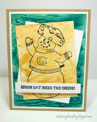 Go Pack Go Snowman - Peachy Keen Stamps