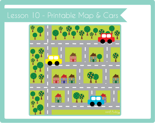 Nerdy image for printable maps for kids