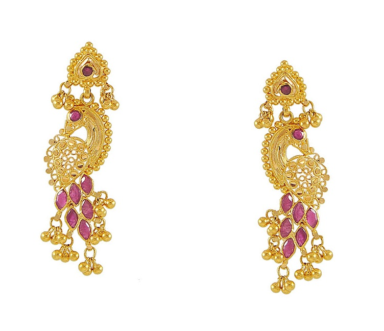 Latest World Fashions: Gold EarRings