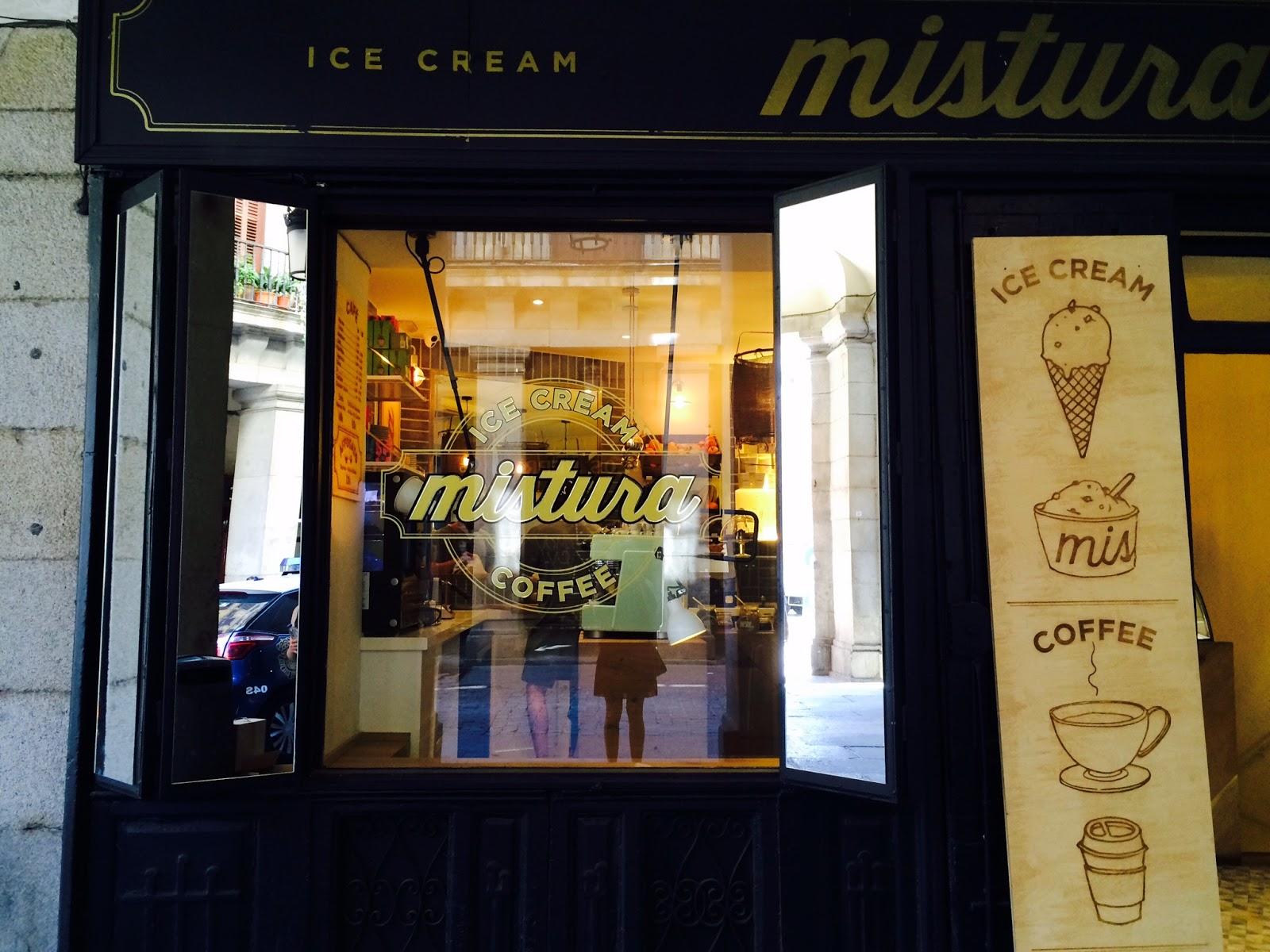 Mistura Ice Cream Madrid - Hostpot