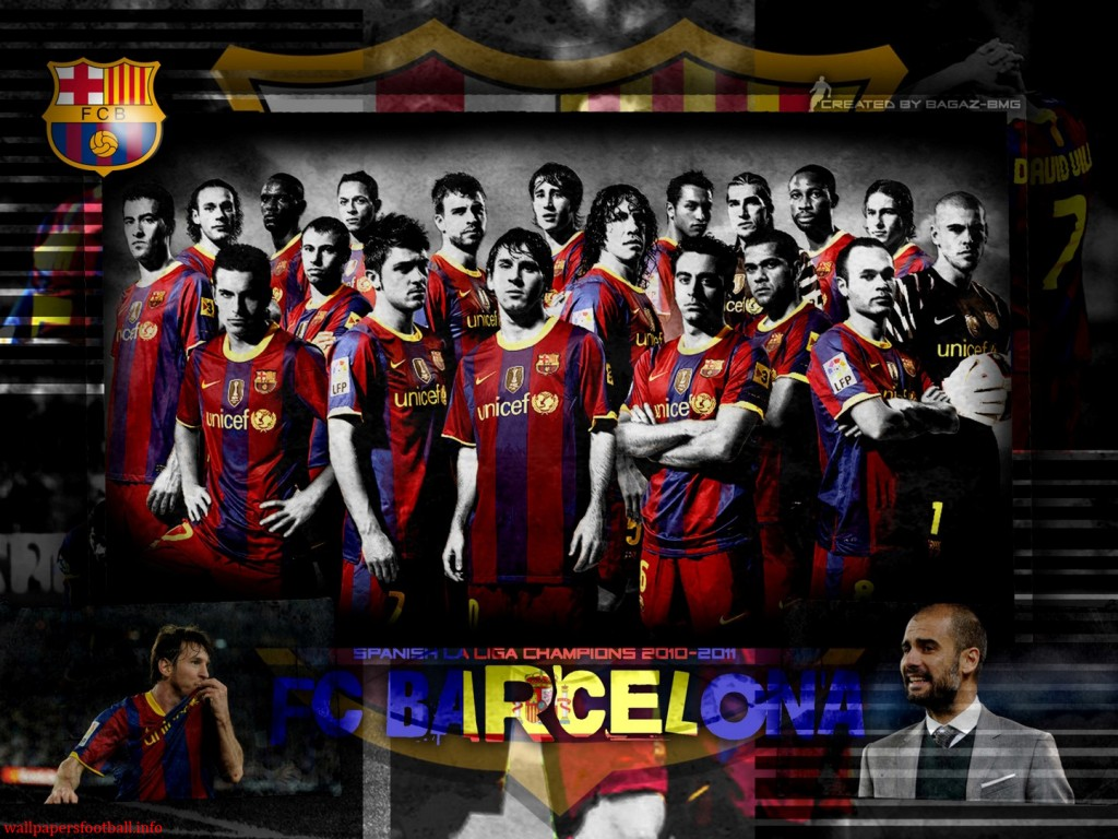 FC Barcelona Team Cool HD Wallpapers 2012