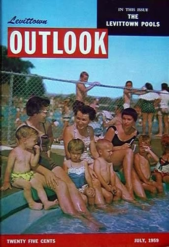 Early levittown ny and beyond by frank barning and friends more memories of the treasured for Levittown pools swimming lessons