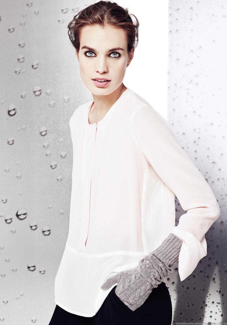 Blusas de moda invierno 2014 Graciela Naum colección.