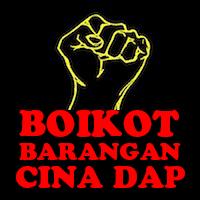 BLOG Boikot Barangan Cina Dap