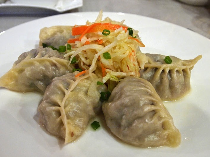 Buuz - Khorum restaurant, Kempinski Hotel, Ulaanbaatar