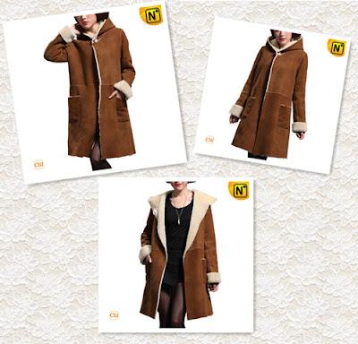 Women Long Lamb Fur Coat