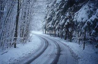 зима, сняг