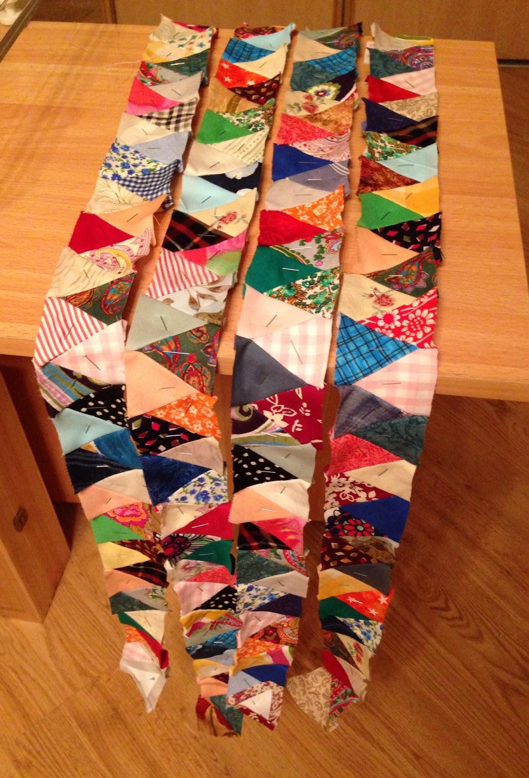 Коврики из лоскутков ткани своими руками: пошаговая инструкция 34