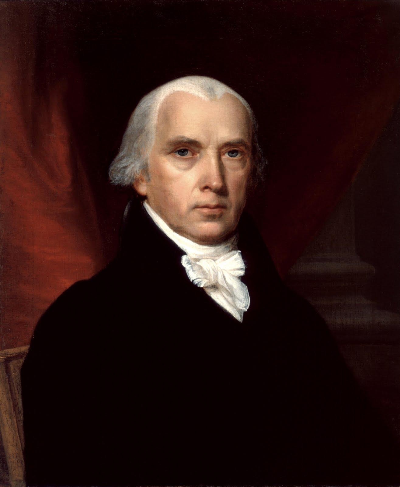 Biogrfi James Madison Bapak Konstitusi & Presiden Amerika