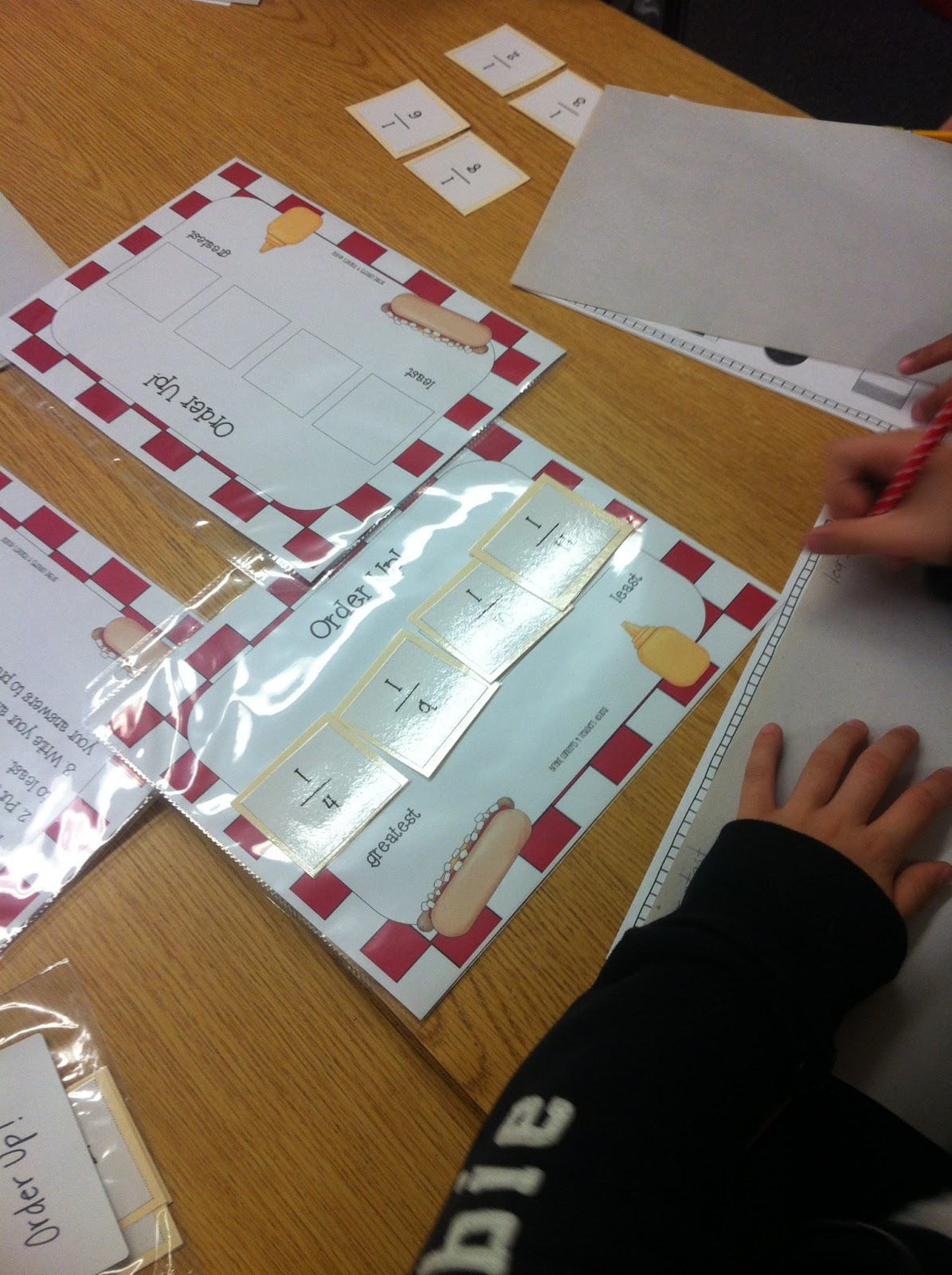 ordering fractions lesson plan year 3 ordering fractions. Black Bedroom Furniture Sets. Home Design Ideas