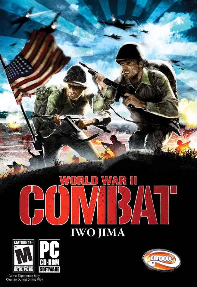 World War II Combat Iwo Jima