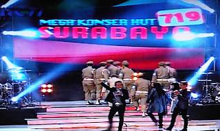 Mega Konser, HUT Kota Surabaya ke-719