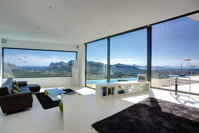 Casas minimalistas y modernas casa minimalista en mallorca - Casa minimalista interior ...