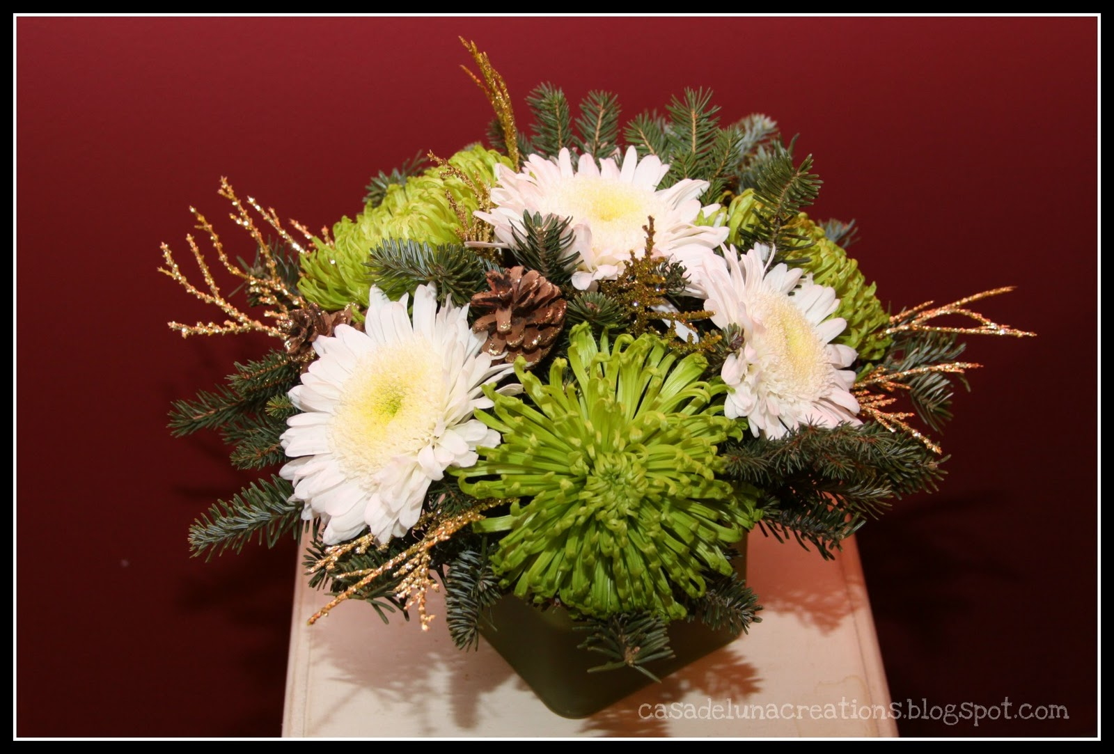 Casa De Luna Creations Diy Christmas Flowers