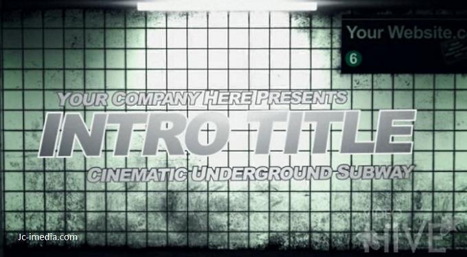Cinematic 3D Subway Promo