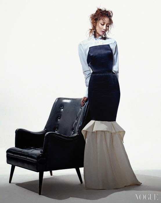 Go Joon Hee - Vogue Magazine April Issue 2014