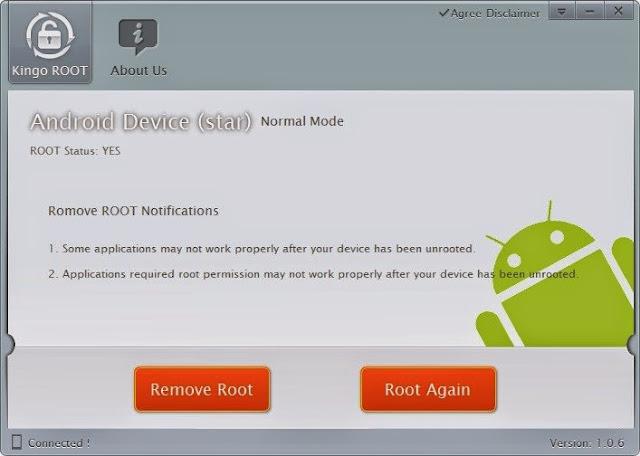 Faça root Rapido e Fácil em qualquer aparelho Android com o Kingo Android Root