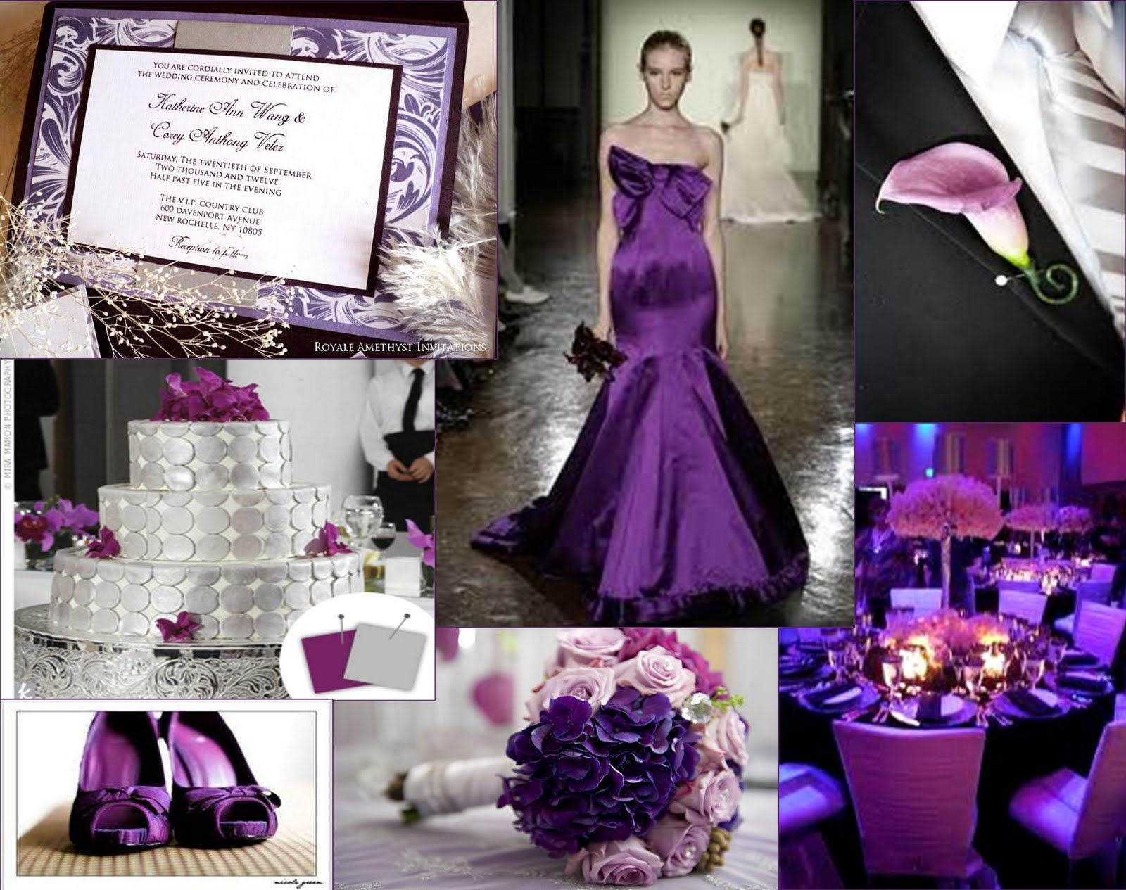 "The Amethyst Corner: ""Platinum Purple Passion: A Purple ..."