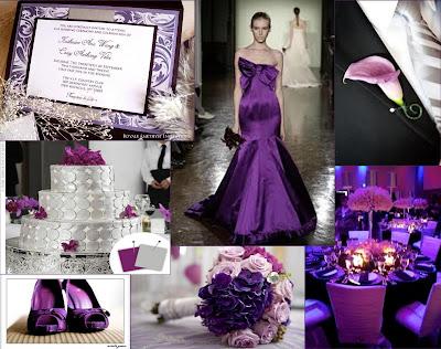 The Amethyst Corner Platinum Purple Passion A Purple And Silver Wedding