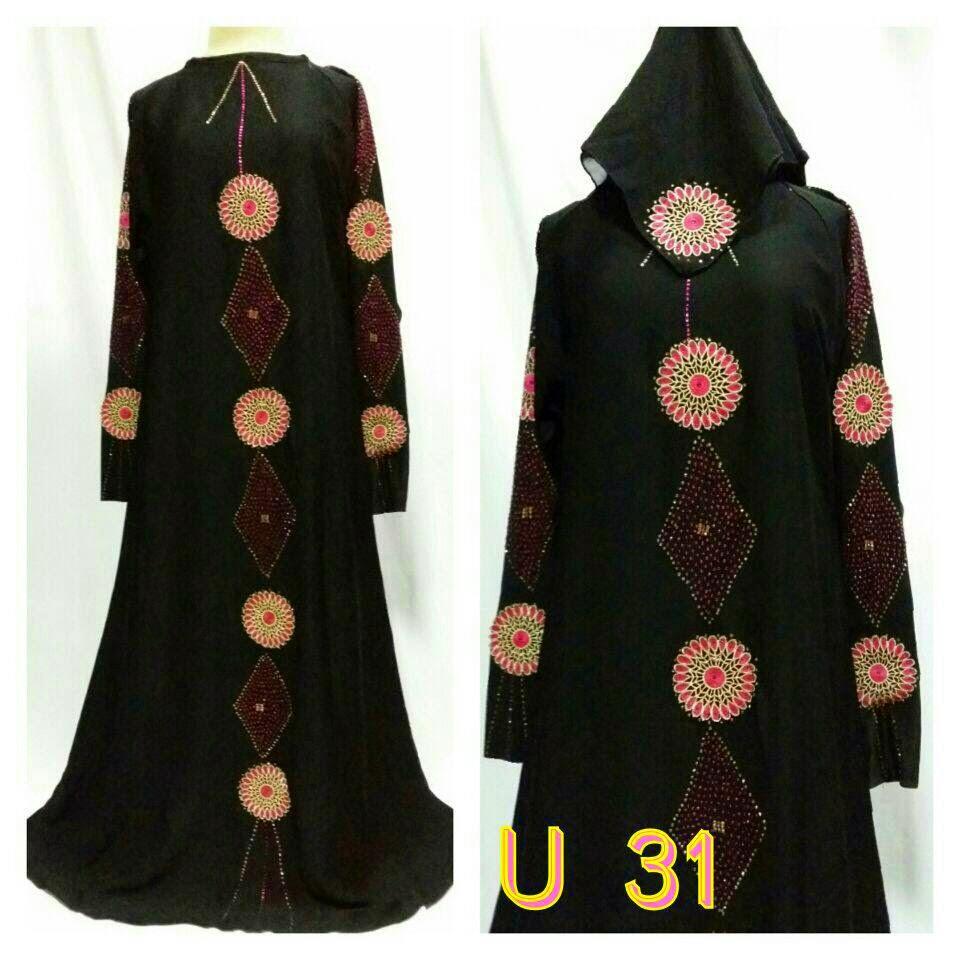 Model Gamis Abaya Hitam Arab Modern Di Jual Harga Murah