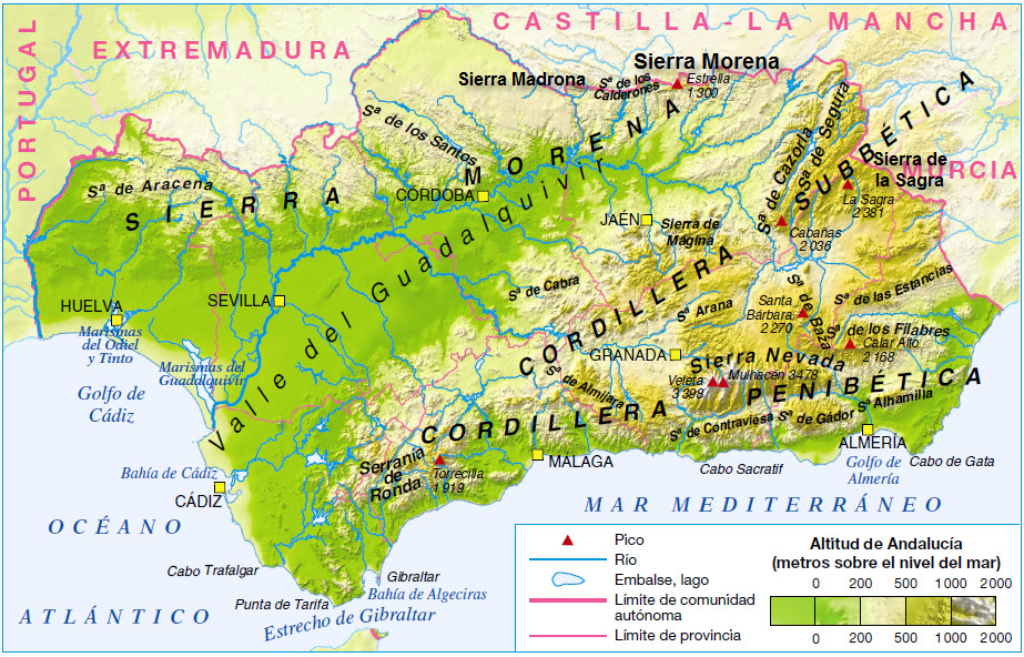 Guía De Formación Online : Geografia Fisica de España IV ...