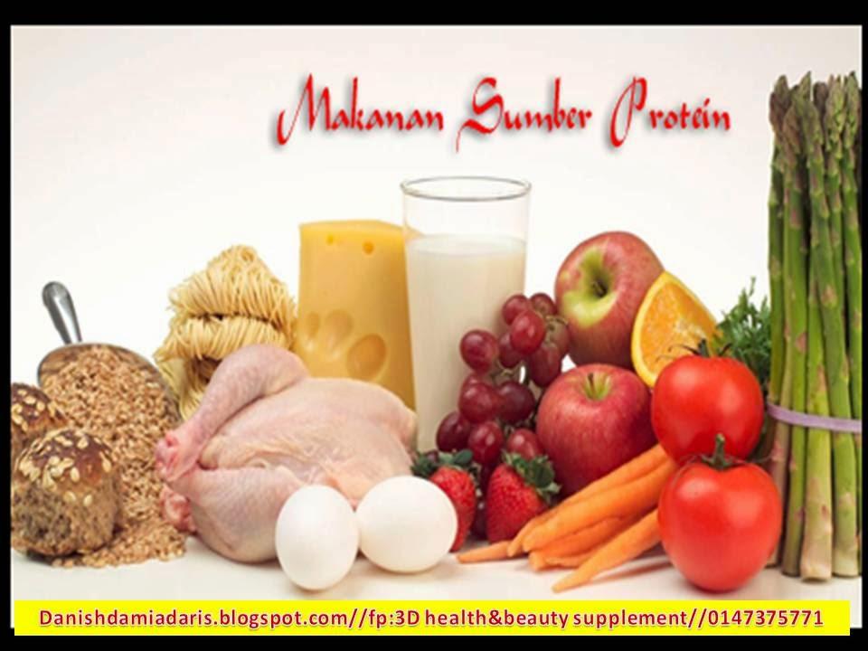3d Health Beauty Supplement 19 Makanan Kaya Sumber Protein Yang