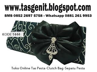 tas pesta, jual taspesta, tas batik, clutch bag