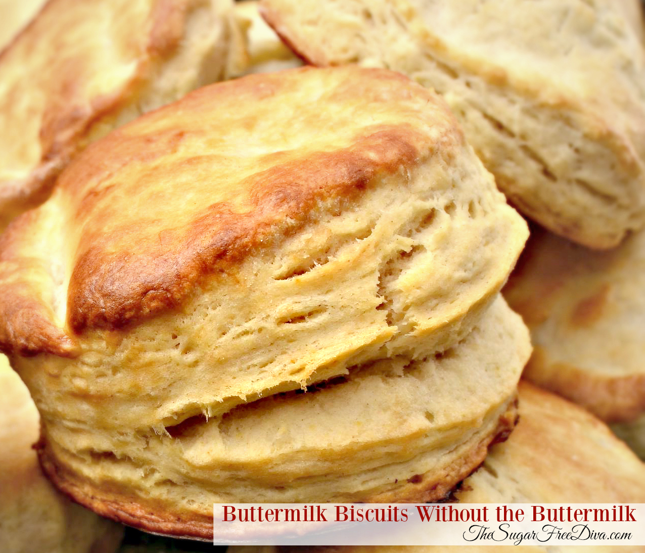 how to make biscuits without buttermilk