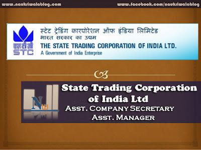 Asst. Company Secretary/Asst. Manager Job 2015