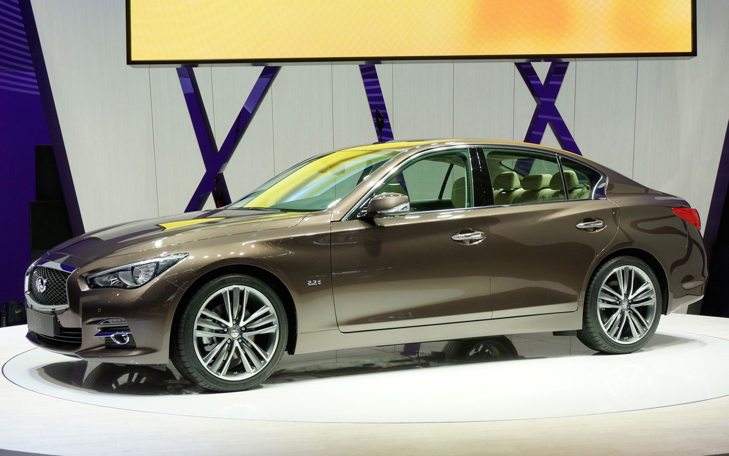 cars model 2013 2014 2014 infiniti q50 debuts in geneva. Black Bedroom Furniture Sets. Home Design Ideas