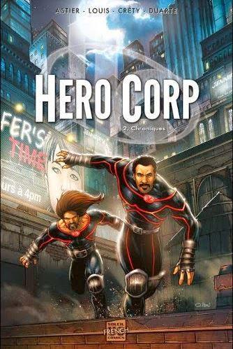 HeroCorp 2. Chroniques