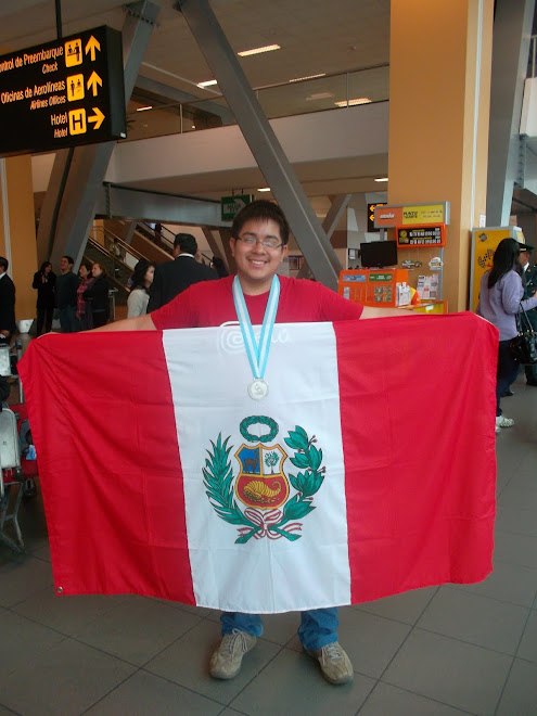 PERU GANA LA MEDALLA DE PLATA EN LAS OLIMPIADAS IBEROAMERICANAS DE QUIMICA SANTA FE  ARGENTINA 2012