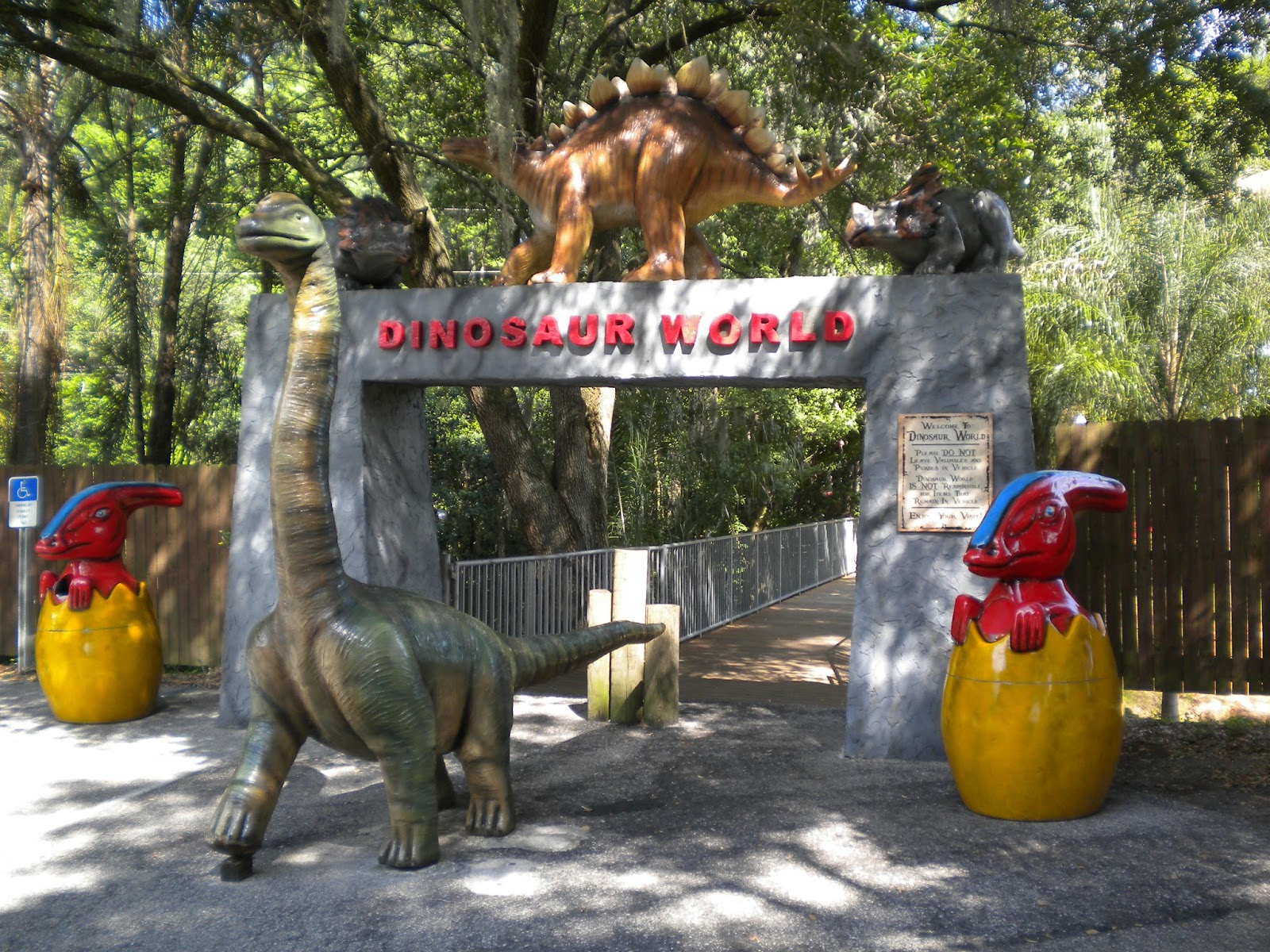 Report From The Florida Zone Dinosaur World