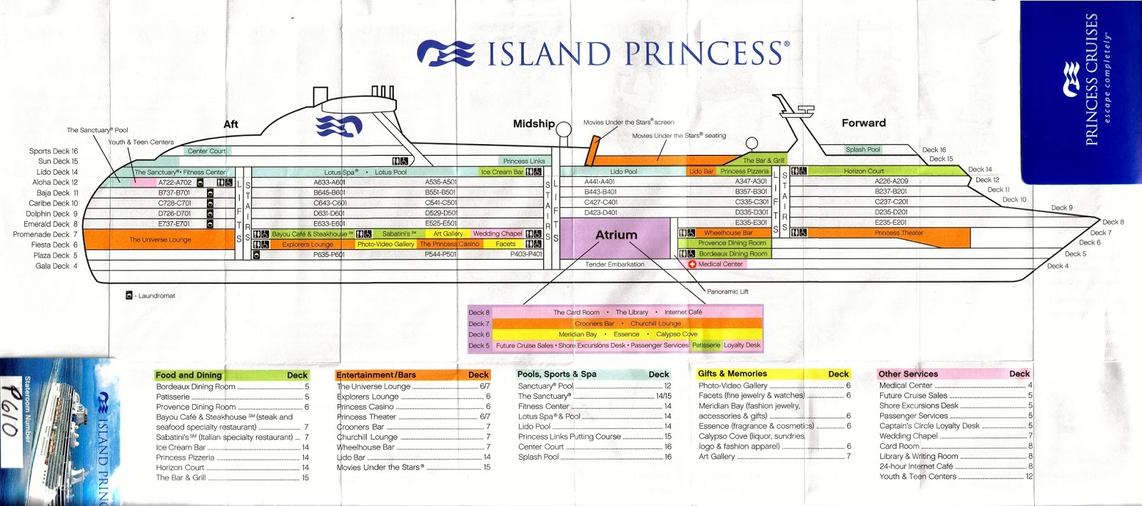 31 Perfect Island Princess Cruise Ship Deck Plan | Fitbudha.com