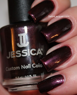 Jessica - Dangerously Dark nail polish