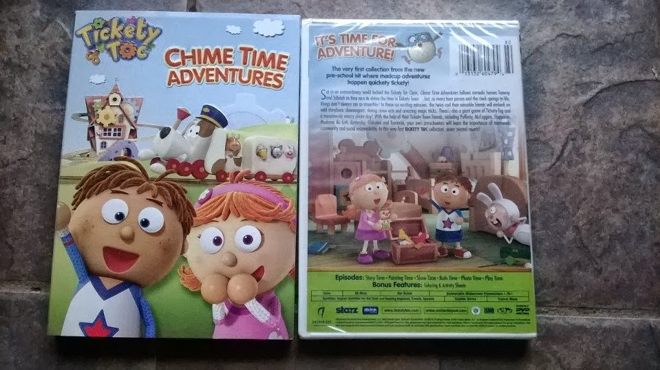 7 Kids And Us Tickety Toc Chime Time Adventures Dvd