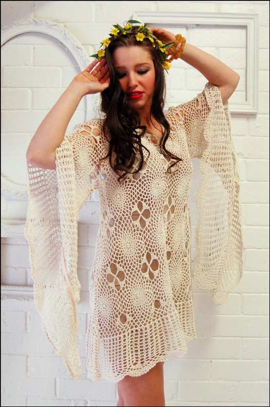 Free Vintage Crochet Clothing Patterns : Crinochet: Inspirational Vintage Pieces
