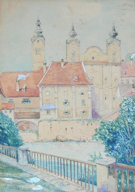 Las pinturas del joven Hitler