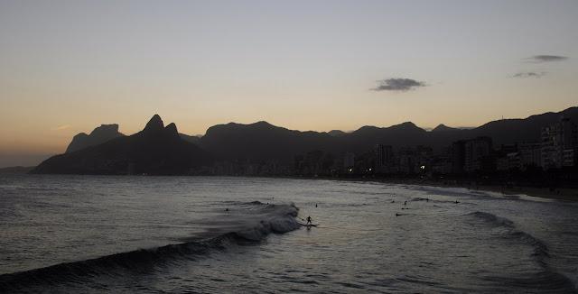 rotas, cariocas, arpoador, por do sol, visual, praia, inn, rio de janeiro, ipanema, noite