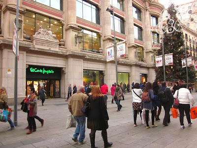 El Corte Ingles in Portal de l'Angel