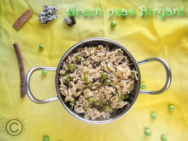 green-peas-biryani