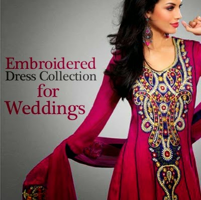 Embroidered Suits for Wedding Parties