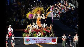 Indonesia Raih Penghargaan President's Trophy di Parade Bunga Pasadena, AS